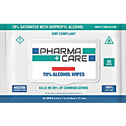 PharmaCare 70% Isopropyl Alcohol Wipes