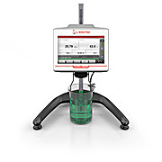 Rotational viscometer with touchscreen