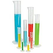 Diamond® Essentials™ Graduated Measuring Cylinders, Polypropylene, Class B