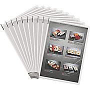 Non-Glare Sterifold PVC Display Pockets