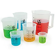 Diamond® Essentials™ Griffin Style Beakers, Low Form, Polypropylene