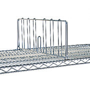 Wire Shelf Dividers and Ledges