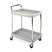 Deep Ledge Polymer Utility Cart