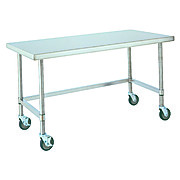 Mobile Stainless Steel Work Table