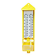 WALL THERMOMETER, WET & DRY BULB