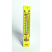 WALL THERMOMETER ON WOODEN BASE