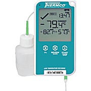 THERMCO™ + LOGTAG, Digital Datalogger, Ultra low temp -90/40C, w/ buffered probe, vaccine storage