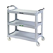 Plastic Three Shelf Utility Carts
