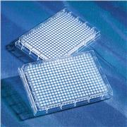 Image of Corning® 96 and 384 Well Clear Flat Bottom Polystyrene NBS™ Microplates