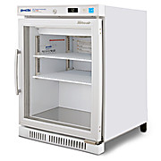 PHCbi brand undercounter pharmaceutical refrigerator 3 cu.ft., 3 to 7°C, with display and lock, 115V  UN3358