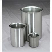Stainless Steel Griffin Style Beakers 3000ml