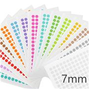 PCR-TAG™ Cryogenic Color Dot Labels for 0.2mL PCR Tubes