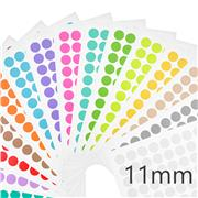 "LABTAG™ Cryogenic Color Dot Labels for 1.5mL Microtubes (0.44"")"