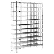 Image of Stainless Steel Finish Shoe Racks