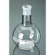 Borosilicate Glass Flat Bottom Boiling Flasks with Ground Glass Joints