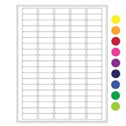 "Cryo-Lazr-Tag™ Cryogenic Removable Labels for Laser Printers, 1.42"" x 0.55"""