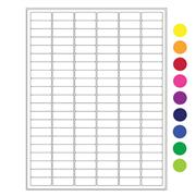 "Cryo-Lazr-Tag™ Cryogenic Removable Labels for Laser Printers, 1.28"" x 0.5"""