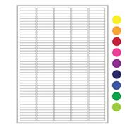 "Thumbnail Image for Cryo-Lazr-Tag™ Cryogenic Removable Labels for Laser Printers, 1.5"" x 0.25"""