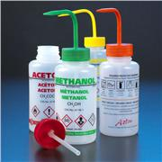 GHS Compliant, Multi-Lingual Wash Bottles