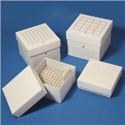 Cardboard, Freezer Storage Boxes with divider
