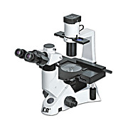 Inverted Trinocular Biological Microscope