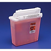 SharpSafety™ Safety In Room Sharps Containers with Counter Balanced Lid