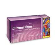 Image of Aurelia® Dimensions™ Fitted Powder Free Latex Exam Gloves