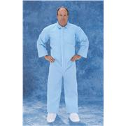 Disposable Blue SMS Polypropylene Coveralls