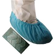Blue Anti-Skid Polypropylene Shoe Covers