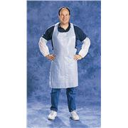 Image of White PE Aprons