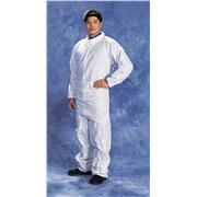 Disposable White SMS Polypropylene Coveralls