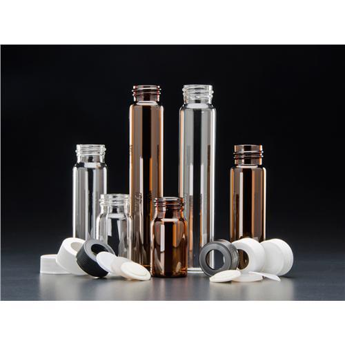 Voa vials solid top closures ptfe lined precleaned for Jg finneran associates