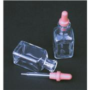 Bottle, with Pipet and Rubber Bulb