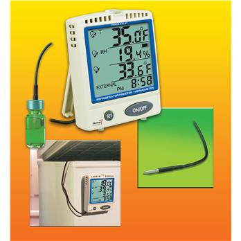 Traceable® Memory-Card Refrigerator/Freezer Thermometer
