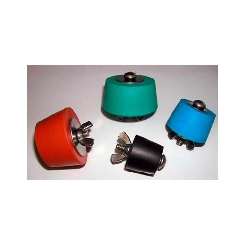 Expansion Plugs Red Silicone