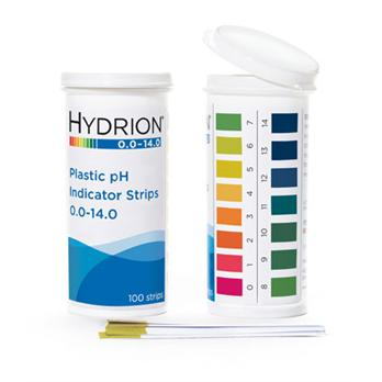 Hydrion Plastic pH Strips