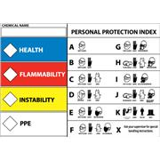 Image of Right To Know Protective Equipment Labels