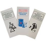 Image of Right To Know Employees Manuals