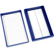 25 Place Premium Microscope Slide Boxes