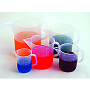 Set of 5 Beakers with Handles
