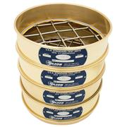 "8"" Diameter ASTM Round Brass-Stainless Test Sieves"