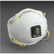 Image of 3M™ 8515 N95 Particulate Disposable Respirator With Cool Flow™ Exhalation Valve And M-Noseclip