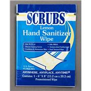 SCRUBS® Lemon Hand Sanitizer Wipes