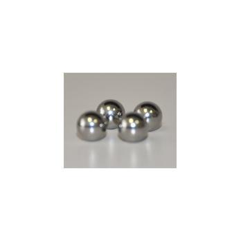 0.5 x 1 Spex Sampleprep 3114 Stainless Steel Vial Set