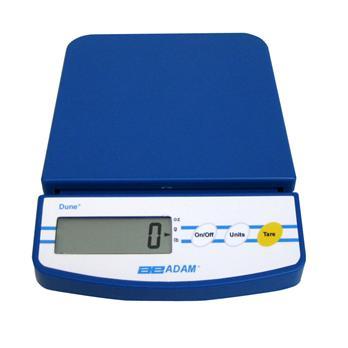220V 200g X 1g Adam Equipment DCT 2000 Dune Compact Portable Balance