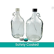Safety Coated Clear Jug
