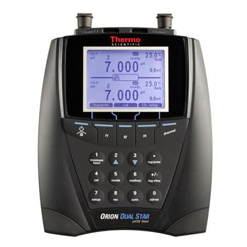 Dual Star™ pH, ISE, mV, ORP and Temperature Dual Channel Benchtop Meters