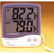Large Display Indoor/Outdoor Thermometers