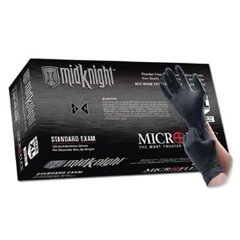 Image of MidKnight™ Black Nitrile Gloves