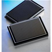 Image of Corning® Low Volume 384 Well Black Flat Bottom Polystyrene Not Treated Microplate, 10 per Bag, without Lid, Nonsterile